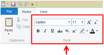 how to add fonts on wordpad
