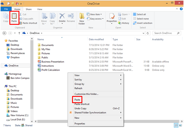 how to open onedrive attachment