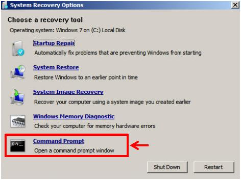 windows 7 will not boot or repair